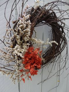Twig Wall Decor red dogwood wreath shipping included in price twig wreath natural