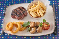 Max & Ben's Bistro Auchterarder, Scotland Menu Items, Grill Pan, Scotland, Food Photography, Grilling, Restaurant, Griddle Pan, Crickets, Diner Restaurant