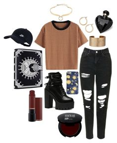 """""""we found love"""" by kingoliversykes on Polyvore featuring Nordstrom, Topshop, Panacea, Alexis Bittar, NIKE en Lipsy"""
