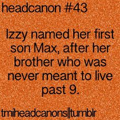 The Mortal Instruments Headcanon // TMI // Izzy