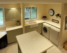 Laundry Room Design, Pictures, Remodel, Decor and Ideas - layout
