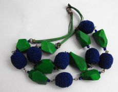 Blue green  - Necklace