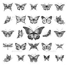 butterfly tattoo designs - butterfly tattoo & butterfly tattoo small & butterfly tattoo designs & butterfly tattoo meaning & butterfly tattoo sleeve & butterfly tattoo behind ear & butterfly tattoo arm & butterfly tattoo men Dope Tattoos, Mini Tattoos, Dainty Tattoos, Little Tattoos, Symbolic Tattoos, Pretty Tattoos, Body Art Tattoos, New Tattoos, Small Tattoos