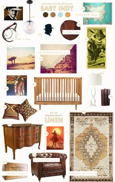 Indiana Jones themed nursery...can I just have an Indiana Jones themed house?