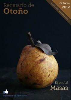 Recetario de otoño del blog Uno de Dos. Octubre 2012  Recopilatorio de recetas del blog Uno de Dos con recetas nuevas especiales de masas. No te lo pierdas, esperamos que lo disfrutes.