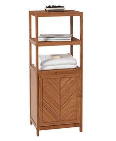 Creative Bath Organization, 3-Shelf Tower with Cabinet - - Macy's