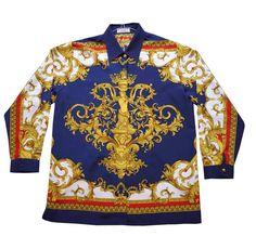 $1720 New Unused Versace Couture Mens Medium Size Shirt | eBay