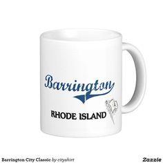 Barrington City Classic Classic White Coffee Mug