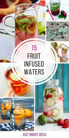 Infused Water Recipes for Quenching Your Thirst! I always wanted to know how to make fruit infused water! Thanks for sharing!I always wanted to know how to make fruit infused water! Thanks for sharing! Infused Water Recipes, Fruit Infused Water, Infused Waters, Fruit Water Recipes, Water Infusion Recipes, Best Flavored Water, Detox Drinks, Healthy Drinks, Detox Juices