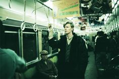 David Bowie: 'The best way to get to know a city is to count up how much change you have in your pocket and take the subway as far as that amount gets you. I did that several times on my last stay in Tokyo in 2004.'  Speed of Life - David Bowie and Masayoshi Sukita