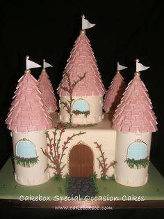 Princess Castle Cake by cakeboxsoc, via Flickr