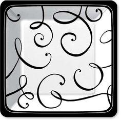 Gorgeous square plates