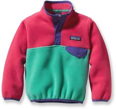 Patagonia Female Baby Synchilla Snap-T Fleece Pullover - Infant/Toddler Girls'