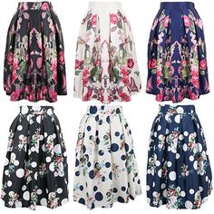 Find More Skirts Information about New 2014 Autumn&Winter Vintage Chinese Style Peacock Floral Print Dots Print Pleated Midi Skater Skirt Saia For Women Girl148018,High Quality Skirts from CHIC-ING  on Aliexpress.com