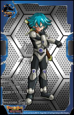 Teen Boxer Proto-type ExoSuit (Invasion Saga) by MAD-54.deviantart.com on @DeviantArt