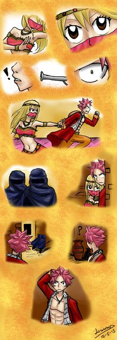 Nalu Arabian Chapter 2 by lovamv on DeviantArt