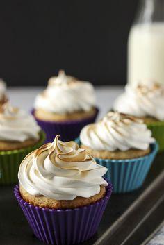 Elvis Fluffernutter Cupcakes
