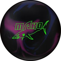 Mako (Track) in Sporting Goods, Team Sports, Bowling Bleu Violet, Bowling Ball, Purple And Black, Two By Two, Track, Balls, Sports, Link, Core