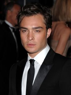 Ed Westwick or Chuck Bass. I'll take either one!