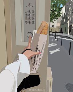 Travel cravings - Parisian vibes (Louise.creates)