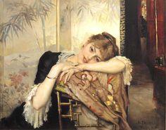 Virginie  Albert Edelfelt -