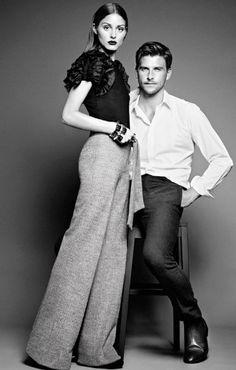 Olivia Palermo & Johannes Huebl for Mango. Style couple.