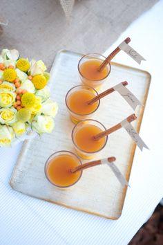 apple cider- cute signature drink