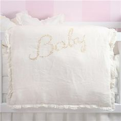 Pom Pom at Home Crib Bedding Baby Linen Crib Duvet