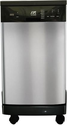 """Sunpentown SD9241SS 18"""" Portable Full Console Dishwasher"""