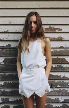 Shop this look on Kaleidoscope (tank, skirt) http://kalei.do/XE1V7xiy1lFGf2fO