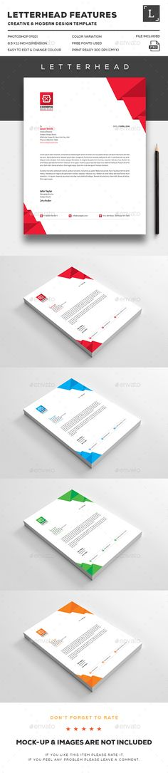 Self Promotion   Stationery by Genevieve Dennis, via Behance - business letterheads