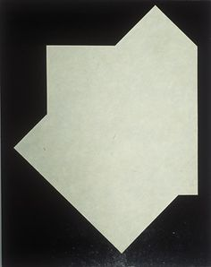 Juhana Blomstedt: Duku, 1987, Maalaus, akryyli kankaalle, 146,2 x 114cm Spatial Memory, Organic Form, Jealousy, Finland, 2d, Contemporary Art, Contrast, Minimalist, Paintings
