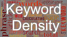 hen the question comes to On-page SEO and the content in any article than keyword density is considered as the most important factor. From most top blogger to new blogger, keyword density is the topic to consider about.