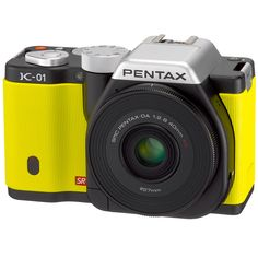 The world's slimmest interchangeable lens?! Yes please! Pentax's digital camera collaboration w Marc Newson $899