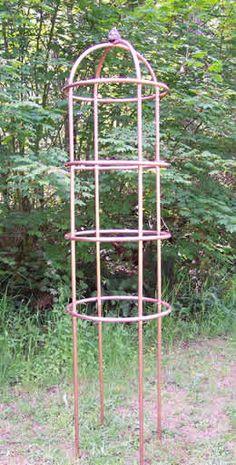 copper pipe trellis