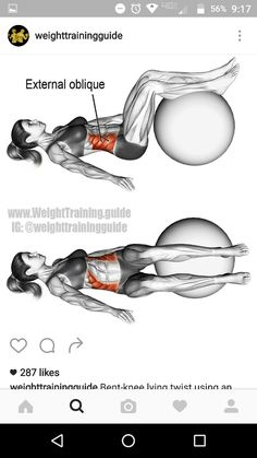 Tone your side abs with this stability ball exercise. Tone your side abs with this stability ball exercise. Tone your side abs with this stability ball exercise. Fitness Workout For Women, Yoga Fitness, Fitness Tips, Health Fitness, Exercices Swiss Ball, Gym Workouts, At Home Workouts, Stability Ball Exercises, Core Exercises