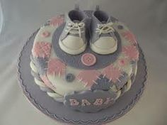 baby shower cake shoes - Buscar con Google