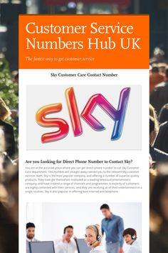 Customer Service Numbers Hub UK
