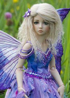Lavender Ice Fairy | Martha Boers doll.