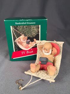 Hallmark Keepsake Ornament- 1989 TV Break | Collectibles, Decorative Collectibles, Decorative Collectible Brands | eBay!