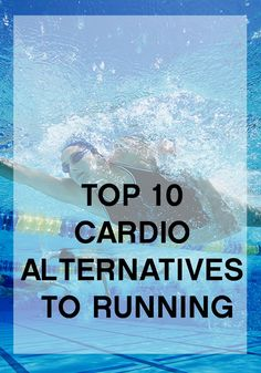 Mix up your cardio routine! Check out these 10 fun alternatives to running.