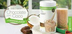 Lançamento #Herbalife #Shake Chocolate c/ Coco!!! Reserve o seu com silvana.goncales@globo.com