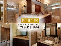 After several months with a beautiful new kitchen, the Baehr family couldn't stand walking into any one of their four 80′s style bathrooms. They were outdated, and completely impractical spaces. So, once again, they called upon the Burgin Construction Team to do what we do best.    We split the project into two phases so that the family had to deal with as little inconvenience as possible, and got to work! New fixtures, flooring, lighting, DeWils Cabinetry... Click to read more