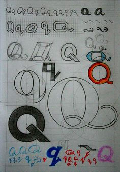 https://flic.kr/p/nYpX4Y | the-letter_q-01 | Hand Drawn Lettering