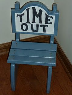 Nanny 911 Time Out Chair