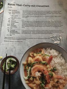 Thai Curry, Recipies