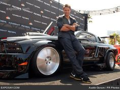 Justin Bruening and a mustang. I don't know what I like better the dude or the…
