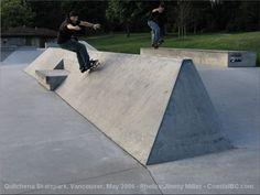 Quilchena Skatepark, Vancouver, B C, Canada