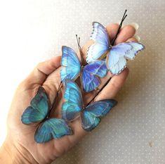 Changieren handgeschöpfte Baumwolle und von TheButterfliesShop