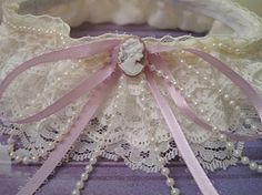 diy wedding, garter